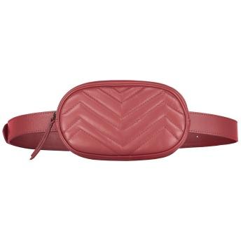SKINNY BELT BAG RED