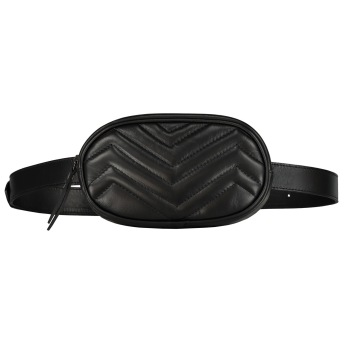 SKINNY BELT BAG BLACK
