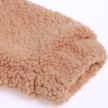 FURRY TEDDY COAT LONG BEIGE