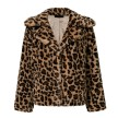 LEO FAUX FUR COAT