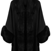 FAUX FUR LUXURY CAPE