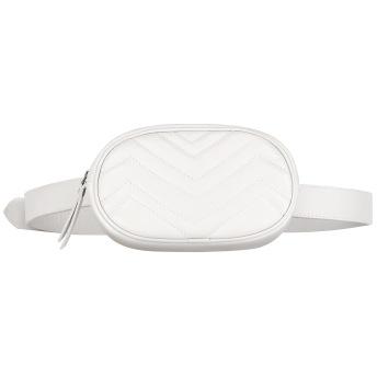 SKINNY BELT BAG WHITE