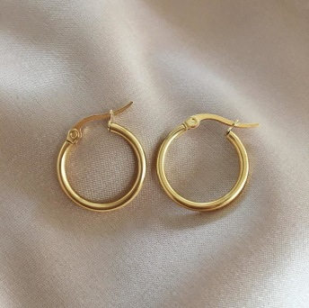 CLASSIC HOOPS GOLD