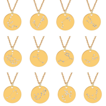 ZODIAC NECKLACE GOLD