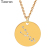 ZODIAC NECKLACE GOLD - TAURUS