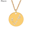 ZODIAC NECKLACE GOLD - PISCES