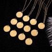 ZODIAC NECKLACE GOLD