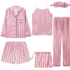 5 PIECE SLEEPWEAR SET PINK