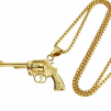 GUN NECKLACE GOLD