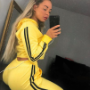 KYLIE TRACK SET YELLOW