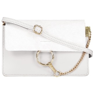 CHAIN BAG SMALL WHITE