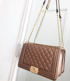 LUXURY DREAM BAG - CHAMPAGNE PINK