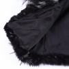 BELLE FAUX FUR JACKET BLACK