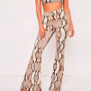 SNAKEPRINT SET LONG PANTS