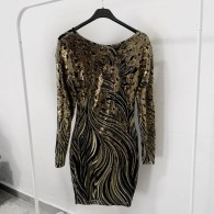 GLOW DRESS GOLD