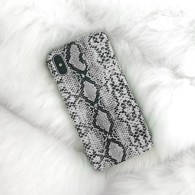IPHONE CASE SNAKE PRINT GREY