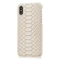 IPHONE CASE CROCO WHITE