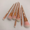 MAKEUP BRUSHES SET PINK/GOLD