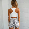 KIM CYCLE SHORTS SNAKE PRINT