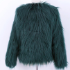 SALLY FAUX FUR JACKET GREEN