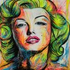 MARILYN MONROE - LIMITED EDITION PRINT - Unframed: Rolled in a Tube With Acid - Free Backing