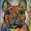 LOUIE - LIMITED EDITION PRINT - Unframed: Rolled in a Tube With Acid - Free Backing