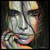 VALENTINA - LIMITED EDITION PRINT - Framed: Black Frame With Acid - Free Backing