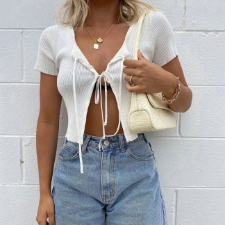 HOLLY TOP - WHITE