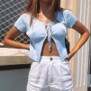 HOLLY TOP - BLUE