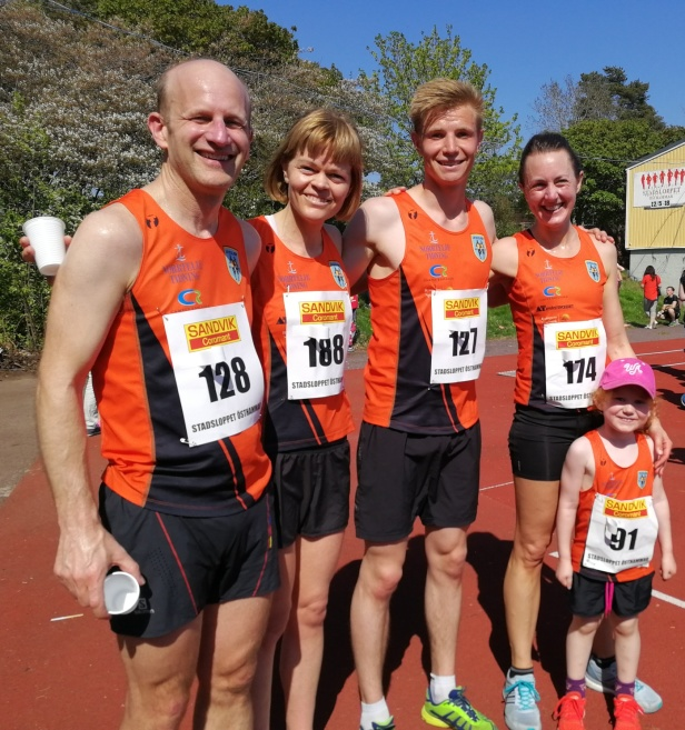 Jörgen, Anna, Emil, Karin och Emelie