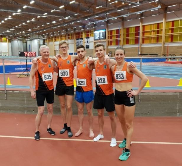 Roland Jansson, Axel Strömsoe, Daniel Steinbock, Emil Ohlsson och Frida Sjöberg