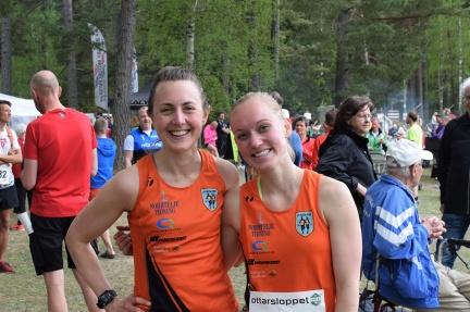 Karin H och Malin B