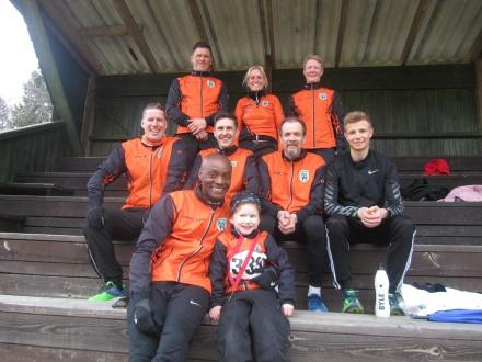 Mats, Jennie, Marianne, Björn, Tomas, Torbjörn, Emil, André, Emelie. På bilden saknas Susanne