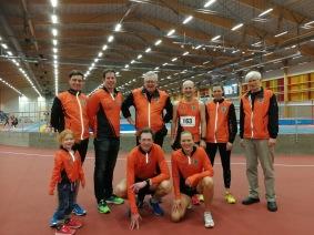 DM helgens aktiva och ledare. Ulf, Björn, Owe, Jörgen, Frida, Hans, Emelie, Mikael & Fredrika. På bilden saknas Tomas, Marianne och Jonathan.