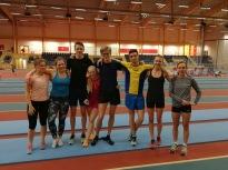 Inomhusträning i Uppsala