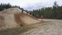 Löpning i sandgropen