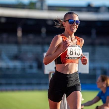 Carolina Wikström, LK Roslagen vinner Långlöparnas kväll 2020-06-23, Foto: Deca Text & Bild