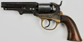 J.M. Cooper & Co. Pocket Model Revolver, #418 -