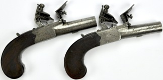 Irländska Flintlåspistoler -