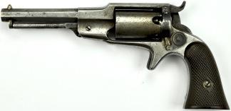 Remington-Beals 3rd Model Pocket Revolver,  #971 -