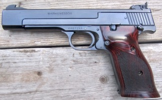 Smith & Wesson Model 41 .22LR, #A487153 -