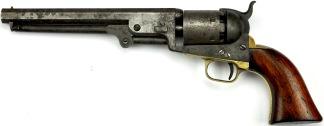Colt Model 1851 Navy Revolver, #12724 -