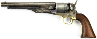 Colt Model 1860 Army Revolver, #39878 -