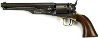 Colt Model 1861 Navy Model Revolver, #16772 -