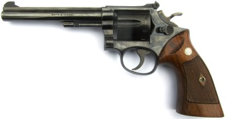 Smith & Wesson Model 17 .22LR, #K253712 -
