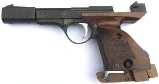 Unique Model Des-69 .22LR, #718624 -