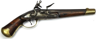 Svensk Pistol för Livgardet till Häst m/1738-1820, #398 -
