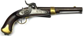 Svensk Pistol för Flottan m/1845, #234 -
