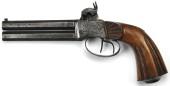 Dubbelpipig Slaglåspistol