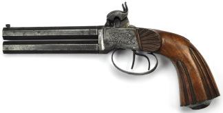 Dubbelpipig Slaglåspistol -